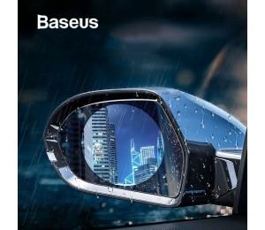 Baseus 2 PCS 0.15mm Auto-Rückspiegelfenster Klare Folie Anti-Beschlag-Fensterfolien Regenfester Autoschutzaufkleber