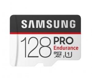 Samsung MicroSDXC PRO Endurance-Speicherkarte mit Adapter