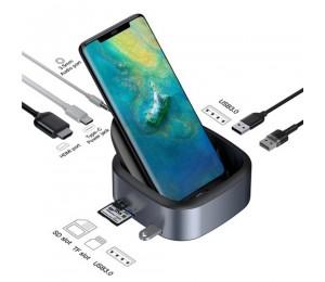 Baseus Mate Docking Mobiltelefon Typ C Intelligente Steckdose nerweiterung