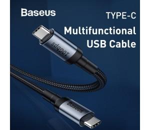 Baseus USB Typ C bis Typ C QC3.0 Schnellladekabel