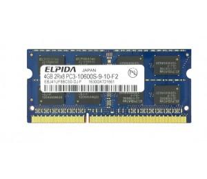 ELPIDA 4GB 1333MHz Laptop SODIMM DDR3 PC10600 (1333) 1,5V Speichermodul