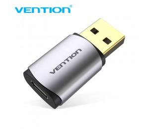 Vention CDMH0 USB 2,0 Stecker zu Typ-C Kopfhörer Audio Adapter Externe Unabhängige Soundkarte