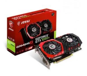 MSI NVIDIA GeForce GTX 1050 Ti GAMING X 4G Grafikkarte 1290 - 1493MHz 128 Bit GDDR5 PCI-E 3,0