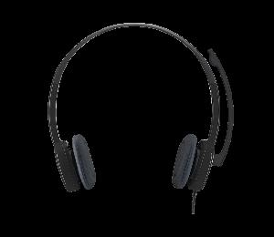 Logitech H151 Stereo Noise-Cancelling Computer Kopfhörer Headset 3,5mm Über-Ohr Kopfhörer