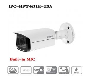 DaHua IPC-HFW4631H-ZSA IP Kamera mit Bauen in Mikrofon Sd-karte slot PoE Kamera 6MP HD