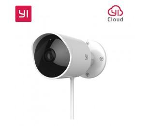 XIAOMI YI Outdoor Sicherheit Kamera Cloud Cam Wireless IP 1080 p Auflösung Wasserdichte Nachtsicht Sicherheit Überwachung System Weiß