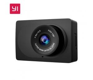 XIAOMI YI Kompakte Dash Kamera 1080 p Volle HD Auto Dashboard Kamera mit 2,7 inch LCD Screen 130 WDR Objektiv G -Sensor Nachtsicht Schwarz