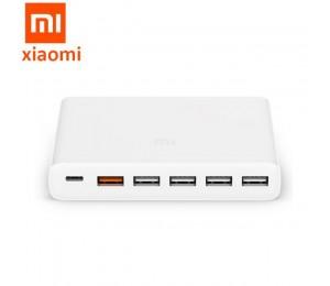Original Xiaomi USB-C 60 W Ladegerät Typ-C & USB-A 6 Ports Ausgang Dual QC 3,0 Telefon schnell Ladegerät 18 W x 2 + 24 W (5 V = 2.4A MAX)