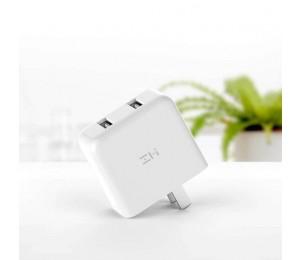 Xiaomi ZMI QC3.0 USB Dual Port Schnelle Ladegerät Tragbare Wand Ladegerät adapter Für Telefon Tablet PC