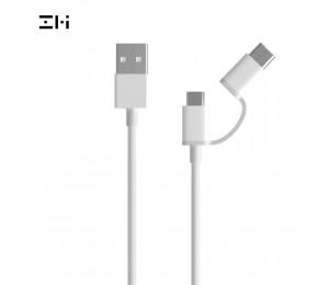 Xiaomi ZMI 2-in-1 USB-C und Micro-USB Combo Kabel DatenKabel Ladegerät Kabel, 30 cm 100 cm