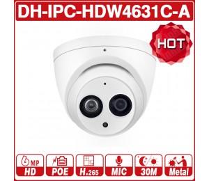 DaHua  IPC-HDW4631C-A 6MP HD POE Netzwerk Mini-Dome IP Kamera