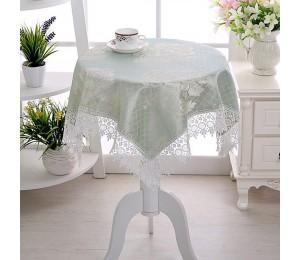 Kleine Frische Stil Tischdecke Runde Platz Kaffee Tisch Tischdecke