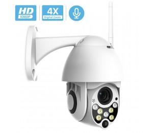 BESDER 1080P IP Kamera Speed Dome CCTV Sicherheit kameras Im Freien ONVIF Zwei-wege Audio