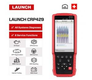 Launch X431 CRP429 OBD2 Scanner Diagnosetester Alle System Codeleser OBDII-Diagnosewerkzeug Öl zurücksetzen ABS EPB BMS SAS DPF