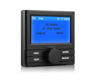 3''externe DAB + box, digitale radio-tuner für auto stereo auto radio player, digital radio sender