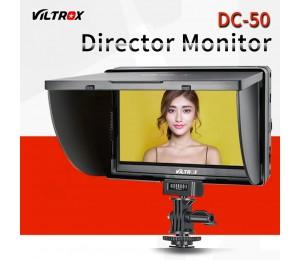 Viltrox 5'' LCD-Monitor DC-50 Clip-on HD 800 x 480P Weitwinkelansicht für Canon Nikon Sony A9 a7II A7SII A6500