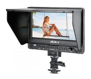 VILTROX DC-70EX 7-Zoll-4K-HD 1024 x 600 HDMI / SDI / AV-Eingang Ausgangskamera Video-LCD-Monitor-Display für DSLR mit Blitzschuhadapter