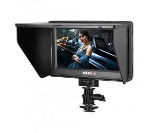 Viltrox dc-70 II 7 HD Farbmontiertes TFT-LCD 1024 x 600 mit AV-Eingang / HDMI und HDMI-Ausgang für Canon Nikon DSLR