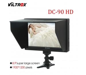 Viltrox DC-90HD 8.9'' Kamera Video Monitor Display Clip-auf IPS LCD HDMI AV Eingang 1920x1200 Pixel für Canon Nikon Sony DSLR BMPC