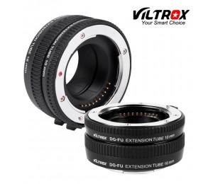 VILTROX DG-FU Autofokus AF Metall Macro Extension Tube Ring Objektiv Adapter Halterung für Fujifilm X X-Pro2 X-T2/T1 x-T20/T10 X-E2S A10
