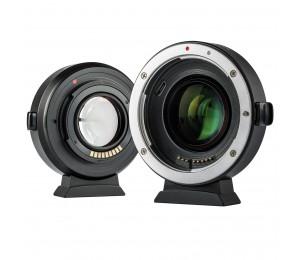Viltrox EF-EOS M2 EF-M Objektiv Adapter 0,71 x Focal Reducer Speed Booster Adapter AF für Canon EF objektiv zu EOS M kamera M6 M3 M5 M50