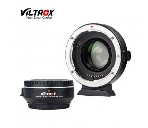 Viltrox EF-FX2 Auto Fokus 0.71X Reducer Speed Booster AF Objektiv Adapter Halterung für Canon EF Objektiv Fuji X- montieren Spiegellose Kamera