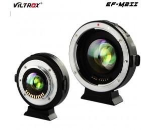 Viltrox EF-M2II Speed Booster Objektiv Adapter ring Focal Reducer Auto Focus 0,71 x für Canon EF Mount objektiv Panasonic olympus M43