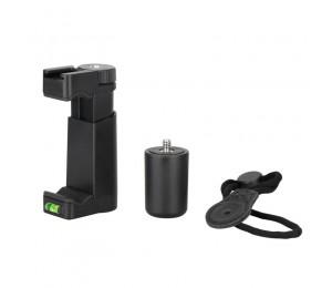 F-Mount Mobile Smartphone Kamera Grip Halter Griff Rig Einbeinstativ Mit Stativ Halterung Und Kalten Schuh Halterung