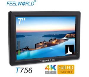 Feelworld 7 Zoll IPS 1920x1200 4K Monitor HDMI Video Kamera Feld Monitor für DSLR Canon Nikon Sony ZHIYUN T756