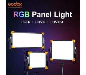 Godox RGB Panel Licht LD75R LD150R LD150RS LED Nachrichten Live Video Licht APP und Dmx-steuerung