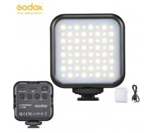 Godox LITEMONS LED6Bi LED Video Licht 3200K-6500K Wiederaufladbare LED Kamera Licht CRI 95 + 13 FX licht Effekte