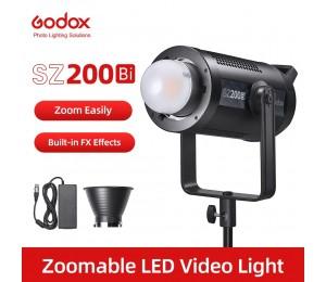 Godox SZ200Bi SZ200 Bi 200W 2800-6500K Bi Bi-Farbe LED Video Licht für Live Fotografie