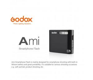 In Lager Godox A1 Mini Smartphone-2,4g Wireless System Flash Trigger Eingebaute Lithium-Batterie für iPhone X 8 7 Plus