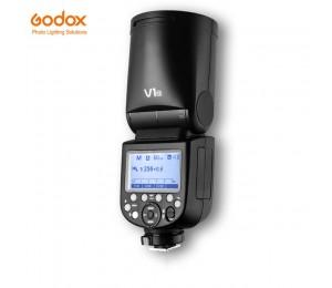 Godox V1 Flash V1C V1N V1S V1F V1O TTL 1/8000 s HSS Speedlite Flash mit X2T-C/N /S/F/O Trigger für Canon Nikon Sony Fuji Olympus