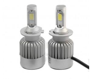 H7 COB-LED-Auto-Scheinwerfer-Birnen-Kit 72W 8000LM Auto Frontleuchte H7 Nebel-Glühlampe 6500K 12V 24V Led Autoscheinwerfer