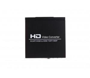 BK-8S SCART +HDMI to HDMI Converter