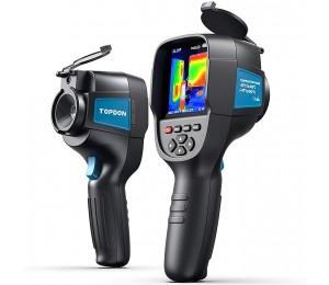 TOPDON Infrarot-Wärmebildkamera ITC629 Infrarot-Wärmebildkamera 220 x 160 Auflösung 35200 Pixel -450 °C Reichweite 0,07 °C Empfindlichkeit 9 Hz Bildwiederholrate 8,1 cm Farbdisplay inklusive Batterie