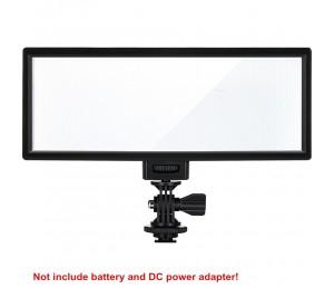 Viltrox L132T LED Video Licht Ultra Dünne LCD Display Bi-Farbe & Dimmbare DSLR Studio Licht Lampe Panel für kamera DV Camcorder