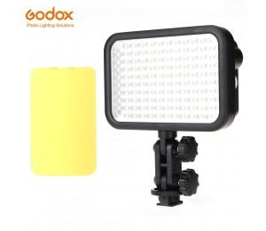 Godox LED126 5500-6500 Karat Video Lampe Licht für Digitalkamera Camcorder DV Hochzeit Videografie Foto journalistic Videoaufnahmen