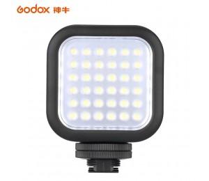 Godox LED64 64 LED Video Licht für DSLR Kamera Camcorder mini DVR als Füllen Licht für Hochzeit News Interview Macrophotography