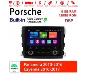 7 Zoll Android 10.0 Autoradio / Multimedia 6GB RAM 128GB ROM Für Cayemne Panamera Mit WiFi NAVI Bluetooth USB Built-in Carplay / Android Auto