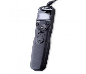 Viltrox MC-N3 lcd timer fernbedienung kamera-auslöser für Nikon D90 D3100 D5000 D5100 D7000 D7100 D600 N3
