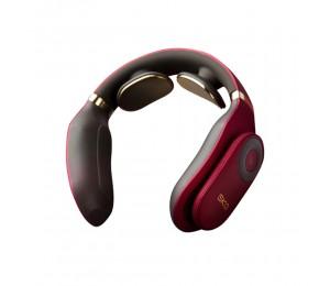 SKG Smart Electric Neck Schultermassagegerät 4098 Rote Schmerzlinderung Ferngesteuerte Halswirbelsäulen-Entspannung Elektrischer Puls