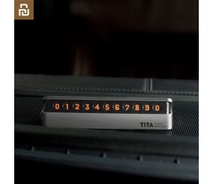 Xiaomi Youpin Bcase Tita Flip Typ Auto Temporäres Parken Telefonnummer Kartenschild