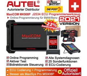 Autel MK908P Diagnosescanner mit J2534 Neuprogrammierung/ECU-Codierung/Programmierung, bidirektional, alle Systemdiagnosen