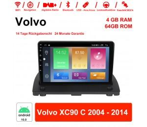 Android 10.0 Autoradio / Multimedia 4GB RAM 64GB ROM Für Volvo XC90 C 2004 - 2014 Mit WiFi NAVI Bluetooth USB