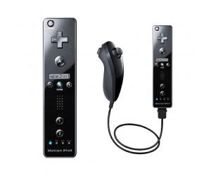 Eingebauter Motion Plus Wireless Remote Gamepad Controller Für Nintendo Wii Nunchuck Joystick Joypad