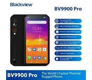 Blackview BV9900 Pro Wärmebildkamera Mobiltelefon Helio P90 Octa Core 8 GB + 128 GB IP68 Robustes Smartphone 48MP Quad Rückfahr kamera