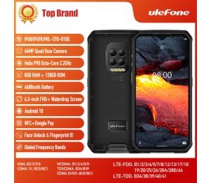 Ulefone Armor 9E Android 10 Robustes Telefon Helio P90 Octa-Core 8 GB + 128 GB 2,4 G + 5 G WIFI Mobilene 6600 mAh 64 MP Kamera NFC Smartphone