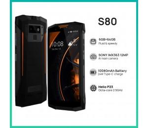 DOOGEE S80 5.99 Zoll Dual SIM IP68/IP69K Smartphone 6G RAM 64G ROM Walkie talkie